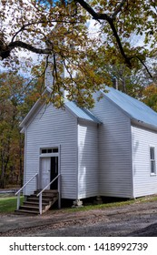 Cades Cove Missionary Baptist Church in the Great Smoky Mountains National Park