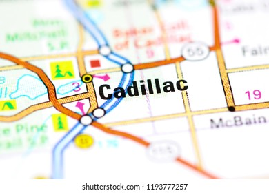 Cadillac Canada On Map Stock Photo Edit Now 753189121 Shutterstock