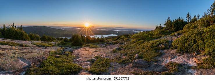 Cadillac Mountain Sunset - Acadia National Park