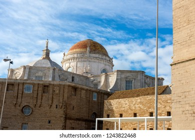 Cadiz Cathedral in Cadiz. Andalusia, Spain