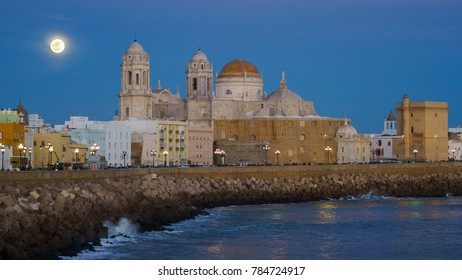 Cadiz Cathedral is a Roman Catholic church in Cadiz, southern Spain, and the seat of the Diocese of Cadiz y Ceuta. It was built between 1722 and 1838.