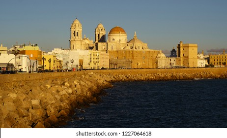 Cadiz Cathedral from Southern Field Spain