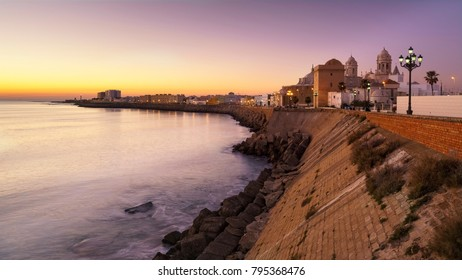 Cadiz Panorama Andalusia Spain