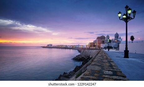 Cadiz Skyline and Cathedral