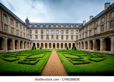 CAEN - FRANCE - AUGUST 18, 2017: Abbaye aux Hommes, Normandy, France. History, locations.