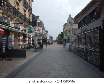 Caen, Normandy / France -05 29 2019: The Normandy region in North West France. The Normandy landings were the landing operations on Tuesday, 6 June 1944 of the Allied invasion of Normandy.