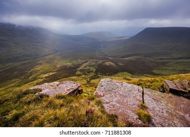 Caerfanell Valley in the Brecon Beacons, Wales