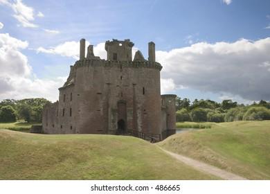 Caerlaverock Castle, Dumfries and Galloway, Scotland, UK