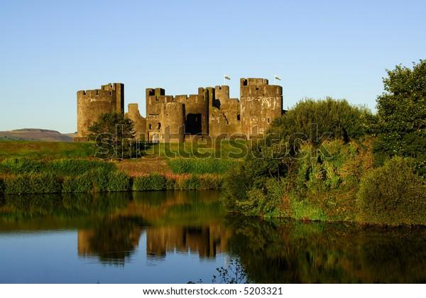 Caerphilly castle,