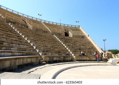 Caesarea is an ancient city located on the Mediterranean coast of modern Israel.