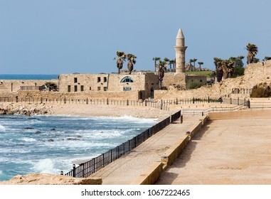 Caesarea, Israel - archaeological site of the Roman and Crusader period