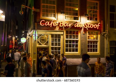 Cafe bars in the red light district of amsterdam amsterdam the cafe bars in the red light district of amsterdam amsterdam the netherlands july aloadofball Image collections