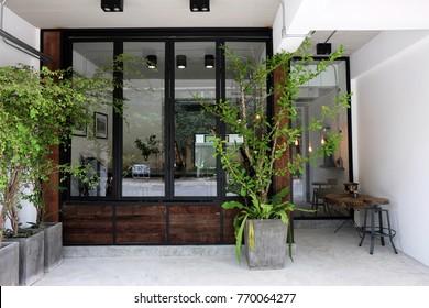 Cafe exterior idea