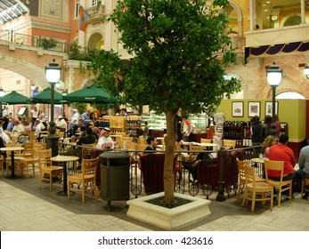 cafe in a mall in dubai