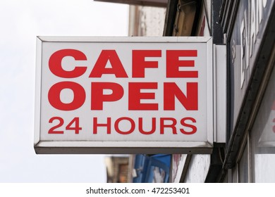Cafe Open Sign