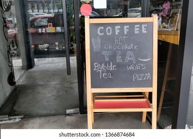 DISPLAY BOARD CHALKS Pub Cafe Restaurant Shop Store Front Menu Advert Blackboard