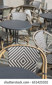 Cafe Tables and Chairs, Stockholm; Sweden