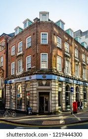 Caffe Nero on the corner of Angel Row & Mount Street in Nottingham, UK on the 21th October 2018