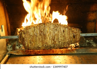 Cag Kebab - Turkish Cag Kebab Doner in wood fired oven