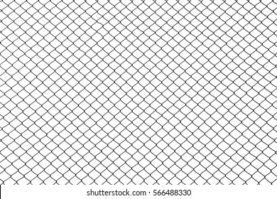 cage metal wire on pale white background