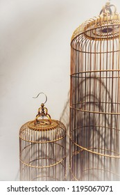 Cages for pet birds