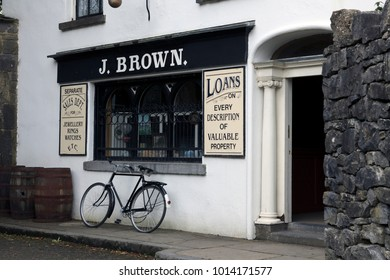 Cahersiveen (Ireland), - July 20, 2016: Jwellery shop, Ireland
