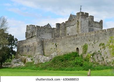 Cahir castle a medieval castle in Ireland