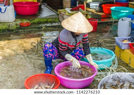 34f3d175d43 Cai Be Vietnam 6 April 2018 Stock Photo (Edit Now) 1142276210 ...
