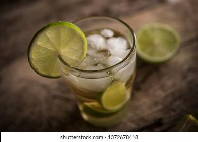 Caipirinha of Brazil cocktail