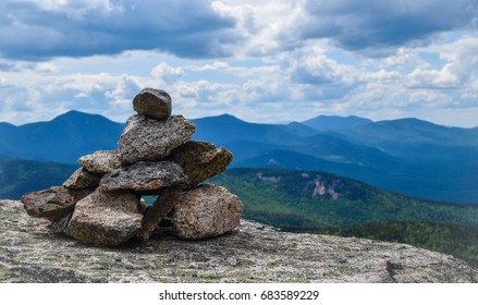 Cairn on a New Hampshire hike