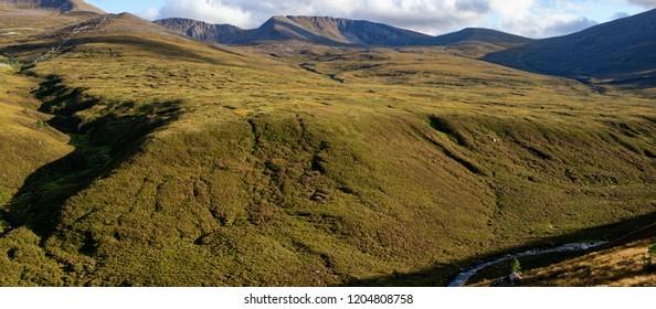 Cairngorm Ridges of Coire Cas, Fiacaill Coire an t-Sneachda, and Fiacaill a Choire Chais Cairngorm Mountains, Scotland