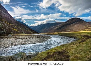 Cairngorms, Angus, Aberdeenshire, Scotland, UK.