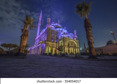 Cairo Citadel night