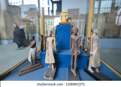 CAIRO, EGYPT - 02 JANUARY 2016: The artifacts  in Egyptian Museum in Cairo.