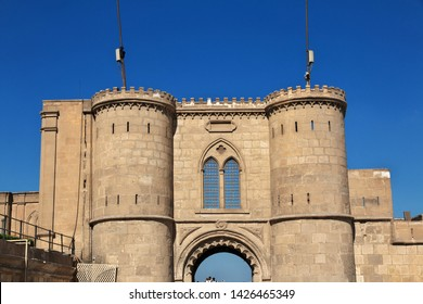 Cairo, Egypt - 05 Mar 2017. The ancient citadel in Cairo center, Egypt