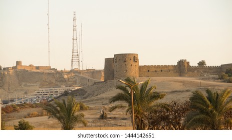 Cairo, Egypt, April 9, 2019: Saladin Citadel of Cairo and the National Military Museum of Egypt, proclaimed by UNESCO as a part of the World Heritage Site Historic Cairo