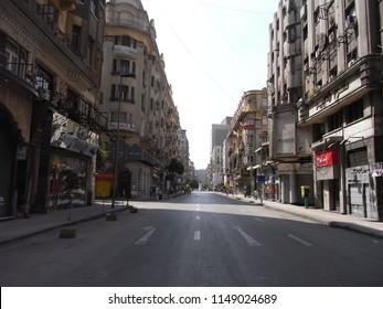CAIRO,  EGYPT - CIRCA APRIL 2009 : Scenery of street in CAIRO.