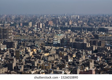 Cairo Egypt downtown roof top view