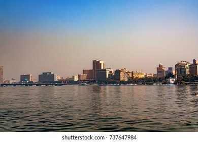 CAIRO, EGYPT - MARCH, 2010: VIEW FROM NILE