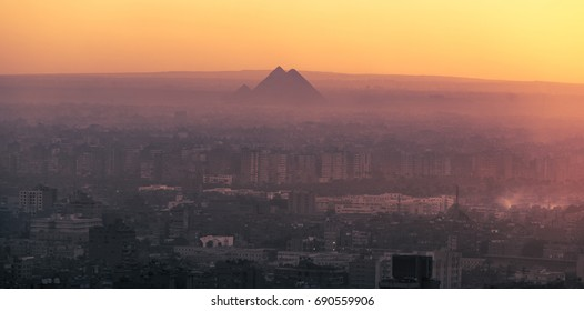Cairo at the end of the day