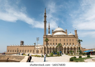 CAIRO - MAY 8: The Saladin Citadel - the Mosque of Muhammad Ali (Alabaster Mosque) on May 8, 2013, Egypt. Cairo - the capital of Egypt and the largest city in the Arab world and Africa.