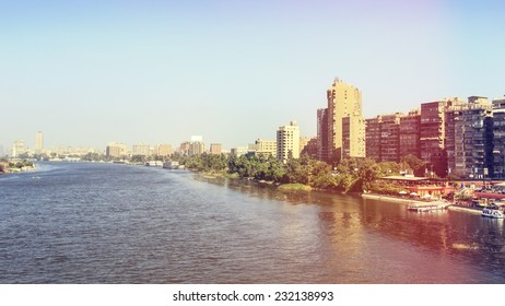 Cairo and the river Nile