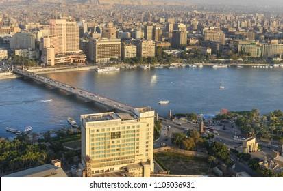 Cairo skyline - Cairo, Egypt