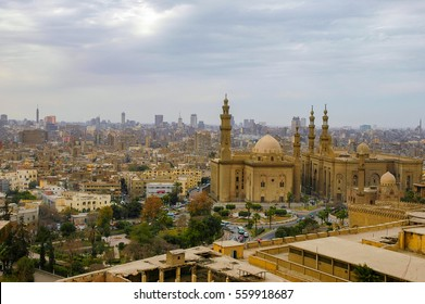 Cairo view of Old Mosque