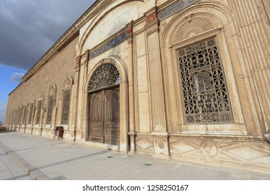 Cairo,Egypt- November 30,2018 :Muhammad Ali Mosque is a mosque situated in the Citadel of Cairo in Egypt and commissioned by Muhammad Ali Pasha between 1830 and 1848