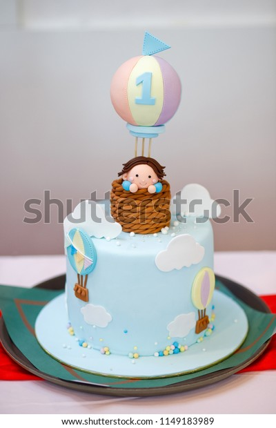 Fantastic Cake Birthday Boy Figure 1 Figure Stock Photo Edit Now 1149183989 Personalised Birthday Cards Veneteletsinfo