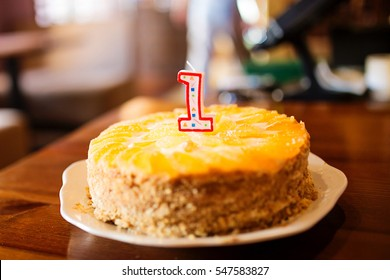 cake candle 1 year