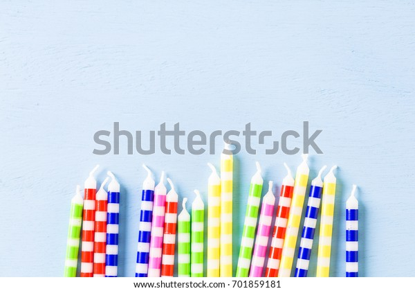 Cake Candles Kids Birthday Party Primary Stock Photo Edit Now 701859181