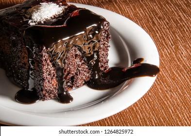 Cake chocolate coconut