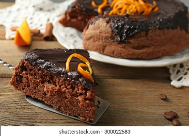Chocolate Orange Cake Images, Stock Photos & Vectors